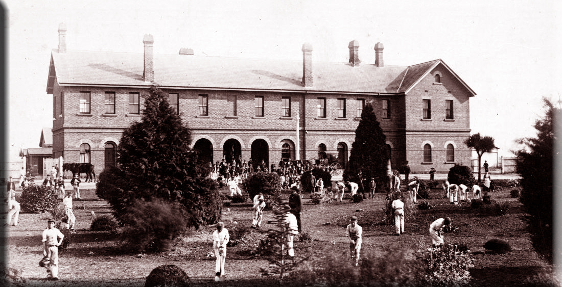 Ballarat Reformatory before 1893 - Max Harris photo