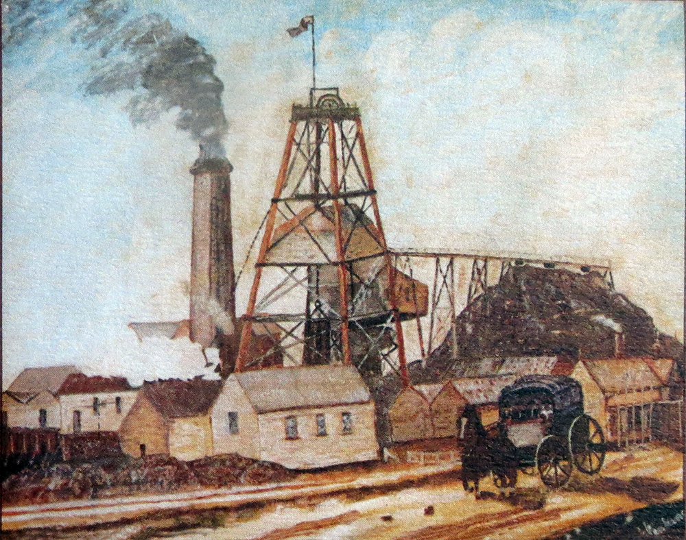 Sebastopol Deep Lead Mine by Arthur Jenkins
